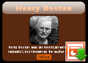 Henry Beston quotes