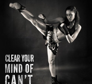 cardio kickboxing for women