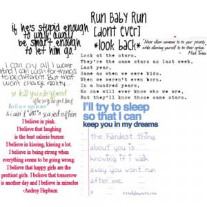 Random quotes - Polyvore