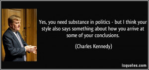 More Charles Kennedy Quotes