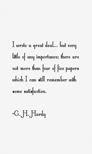 Hardy Quotes & Sayings