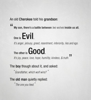 Good Vs Evil Quotes