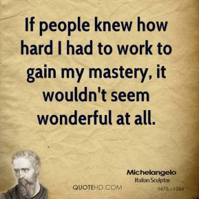 Michelangelo Quote People