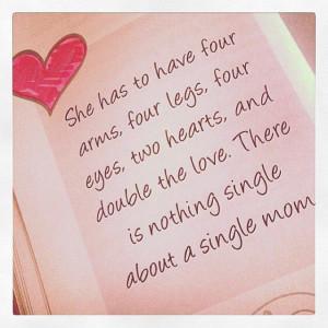TheSingleWoman--single mom quote
