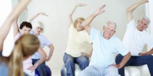 chair exercises for senior citizens