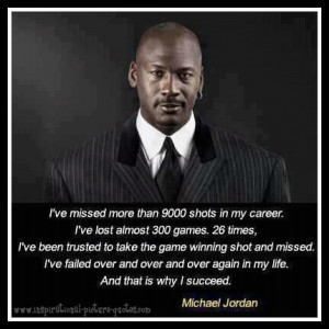 Michael Jordan Inspirational Quote