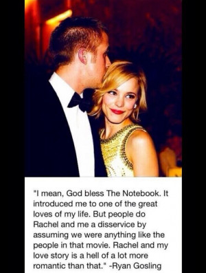 Rachel Mcadams Enjoys Ryan