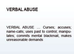 Verbal Abuse | ... Life Is A Poem: A misinterpreted issue - Verbal ...