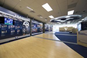New Football Lobby Unveiled