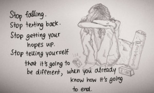 change, heart broken, love, pain, quote, sad, sad quote, true