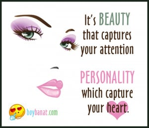 True beauty lies within the heart of a single soul…when the man ...