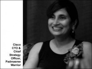 Cisco's CTO, Padmasree Warrior assumes additional role in the company