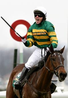 Chasing history: Tony McCoy is hoping he can win the Grand National ...