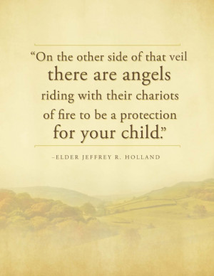 ... With Their Chariots Of Fire To Be A Protection For Your Child