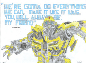 Bumblebee Dark of the Moon Quote by Bumble217