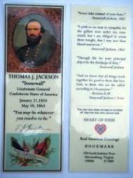 "Lt General Thomas Jonathan ""Stonewall"" Jackson"
