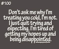 Tired of Being Strong Quotes