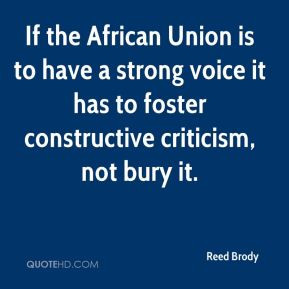 Reed Brody - If the African Union is to have a strong voice it has to ...