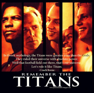 RememberTheTitans #DenzelWashington