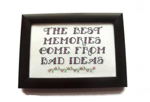 Funny Memories Quote Pleted