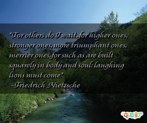 Triumphant Quotes