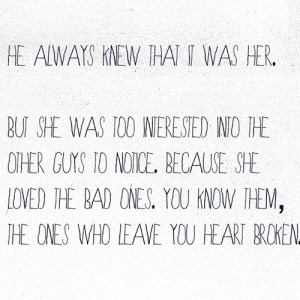 LE LOVE BLOG UNREQUITED LOVE LOVE PHOTO LOVE QUOTE HE ALWAYS KNEW THAT ...