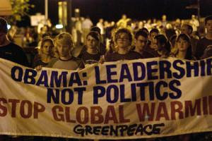 ... press release congratulating Obama for his
