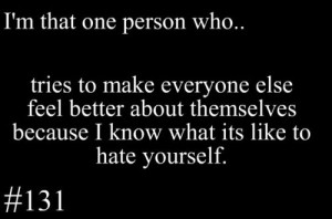 hate # yourself # quote # life # people # nice # cating # lovequote ...