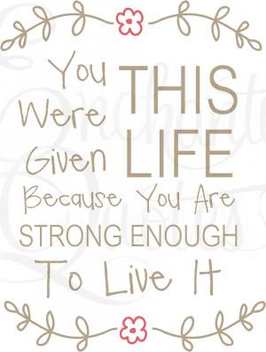 Inspirational Quotes / Teens