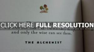the alchemist quotes 2