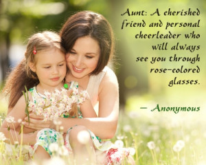 QUOTES FROM AUNT TO BABY NIECE