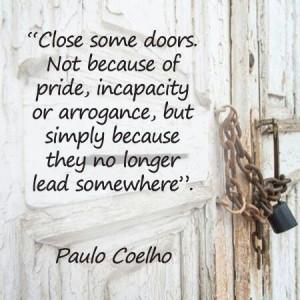 Let another door open....