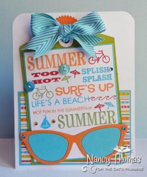 Summer Sayings - Sunglasses (The Cat's Pajamas Sneak Peek)