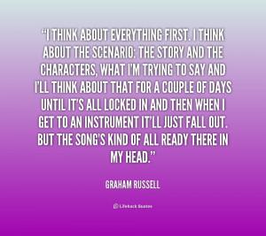 Graham Russell Quotes