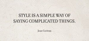Wisdom Wednesday Jean Cocteau LAGOS Jewelry Style