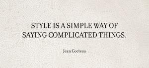 Wisdom Wednesday Jean Cocteau LAGOS Jewelry Style