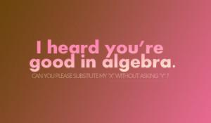 algebra, cute, funny, humor, humour, love, math, maths, quote ...