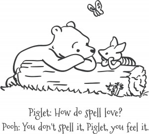 Viewing Gallery For - Winnie The Pooh How Do You Spell Love Quotes