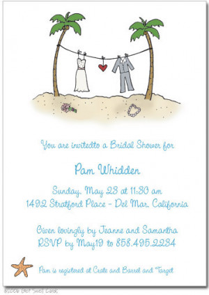 funny wedding shower invitation wording 2 213x300 Funny Wedding Shower ...