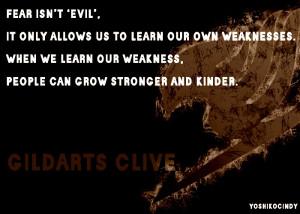 Fear isn't evil.