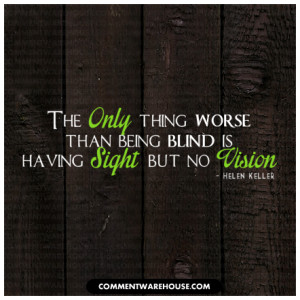 or publish quotes picture from helen keller quote about vision