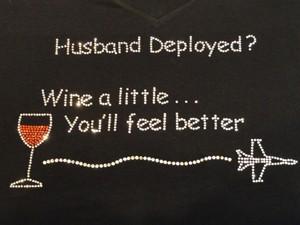 Husband deployed?