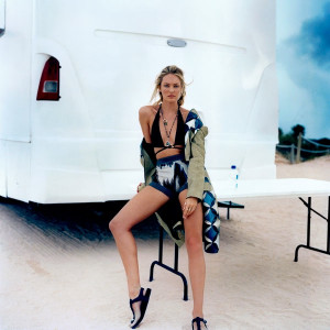 Candice Swanepoel Takes Miami for Marie Claire, Talks Being a VS Angel