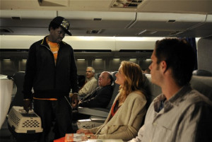 ... Blanchard, James D'Arcy and Gbenga Akinnagbe in Overnight (2012