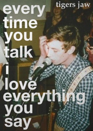 Between Your Band And The Other Band // Tigers Jaw