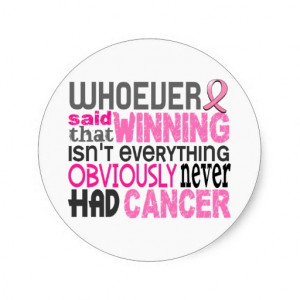 Breast Cancer Thank You Sayings...