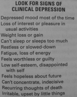 ... think some Signs Of Depression (Depressing Quotes) above inspired you