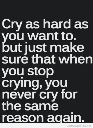 Cry motivation quote tumblr