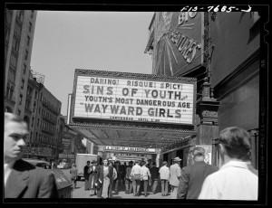 1940s Rebellious Teenagers