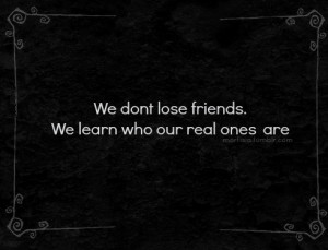 real friends #black and white #quotes about friendship #good friends ...